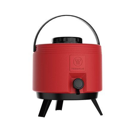 Botijao-termico-6-l-com-torneira-vermelho