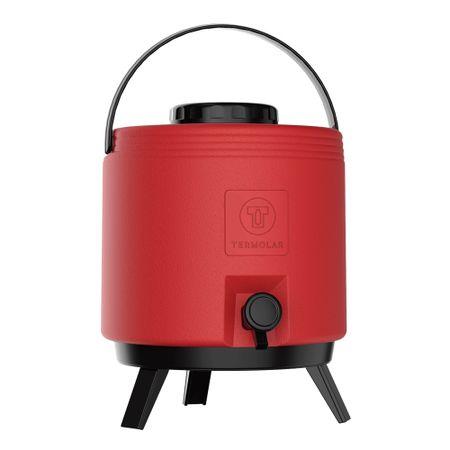 Botijao-termico-8-L-com-torneira-vermelho