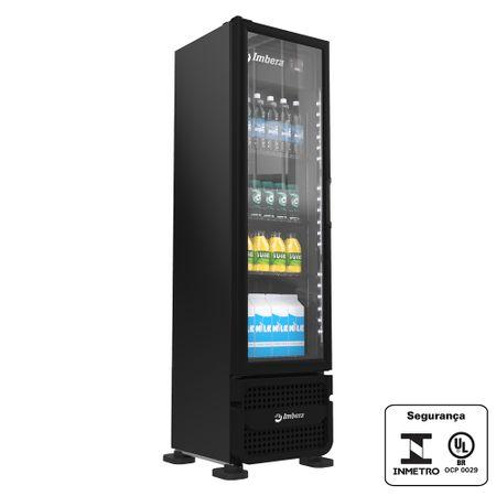 Refrigerador-vertical-porta-vidro-229L-ar-forcado-preto-stylus