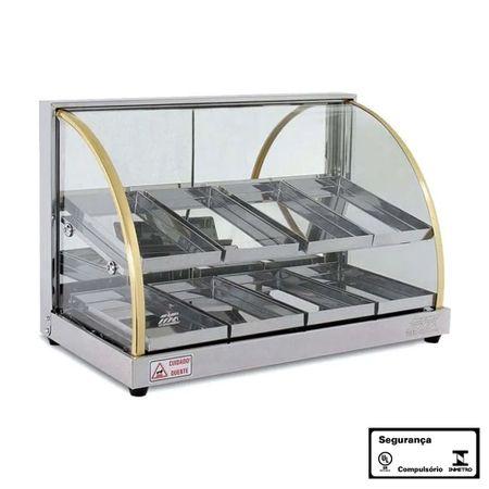 Estufa-vidro-curvo-linha-w-dupla-com-8-bandejas